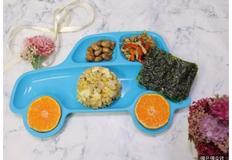땅콩조림, 고추잡채, 계란밥, 유아 반찬, 아이 반찬, 유아식 식단, 유아 식판식, 4살 식단, 3살 식단