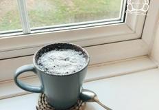 [영국주방] 눈 오는 날 뚝딱 만들어 먹는 누텔라 머그 컵케이크(Nutella Mug Cakes)