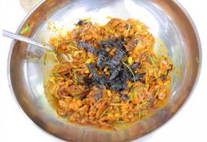 꼬막 비빔밥만들기, 꼬막 요리,12월 제철 반찬