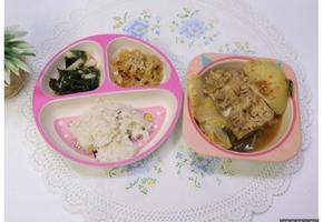 감자탕 끓이기, 감자탕 만들기, 미역배무침,명엽채조림,3살식단,4살식단,유아식식단,유아반찬,아이반찬,감자요리,등뼈요
