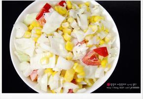 코울슬로 / 양배추샐러드 만들기 - 홈파티 간단 샐러드