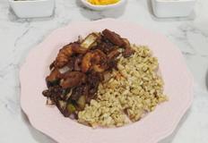 연근을 넣은 짜장밥(든든한 한그릇이에요)