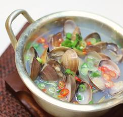간단한 국물요리 레시피 조개탕 끓이는법