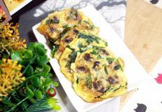 #겨울제철요리 #홈파티요리 #꼬막부추전만들기 #NO밀가루 #달걀만으로 부쳐낸 꼬막부추전
