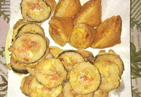 남은 유부초밥이랑,김밥 계란부침