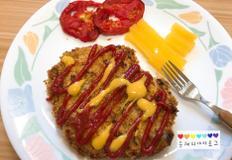돈까스 만들기 오븐으로 구워 만들었어요 :)