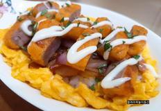 자취생/혼족 간단 한끼 메뉴 치킨너겟 치킨마요덮밥