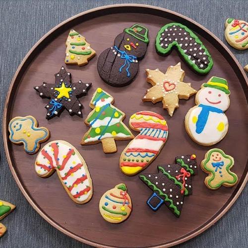 크리스마스 분위기 팍팍!! 크리스마스 아이싱 쿠키 만들기