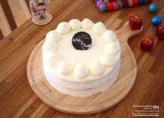 체리 생크림 케이크 :: 크리스마스 케이크 만들기