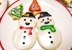 크리스마스 아이싱쿠키 만들기 달콤하고 귀엽게 만들었어요 :)