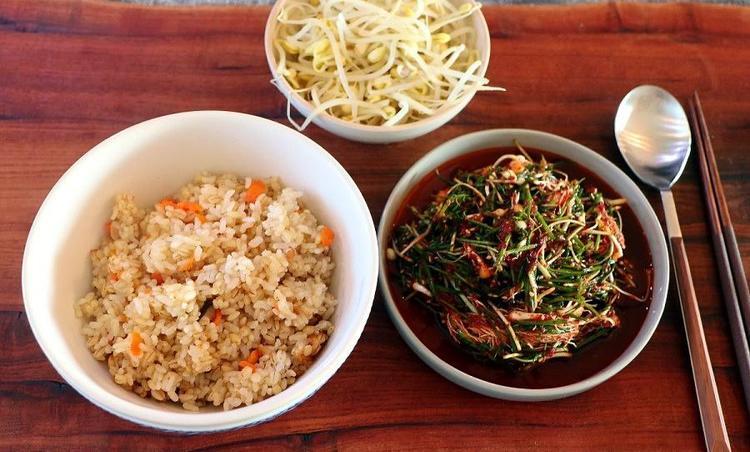 콩나물밥 만들기 양념장 달래장
