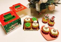 메리크리스마스 녹차 크림치즈머핀 만들기 달콤 쌉쌀해요 :)