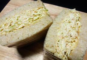 [리틀포레스트] 양배추 달걀 샌드위치