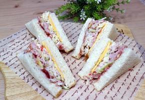 양배추크래미 샌드위치