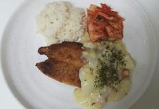 (블루 화이팅)생선 튀김까스