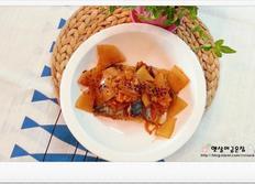 묵은지 고등어조림 만드는법 김치요리