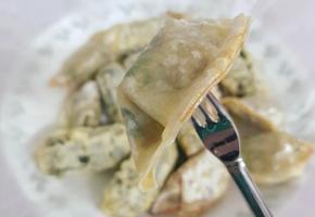 [에어프라이어]바삭하고 담백한 만두튀김:D + 꿀팁!