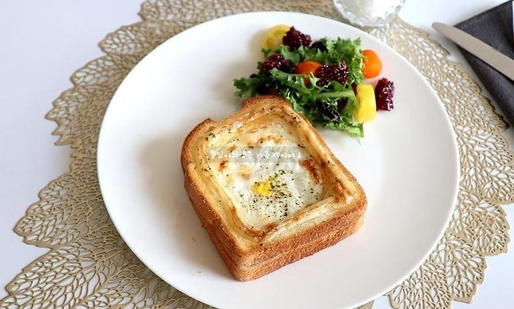 에어프라이어로 계란토스트 만들기 치즈 넣어서 더 맛있게 ~
