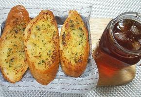 커피와 환상궁합 마늘바게트 초간단 레시피