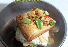 김수미 두부조림: 간단하지만 맛있어