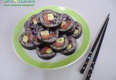 다이어트 김밥/생 연어김밥