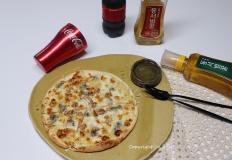 겨울벌꿀을 제대로 즐기는 고르곤졸라 피자 만들기