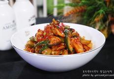 버섯오이무침 새콤아삭쫄깃 맛있는 무침반찬