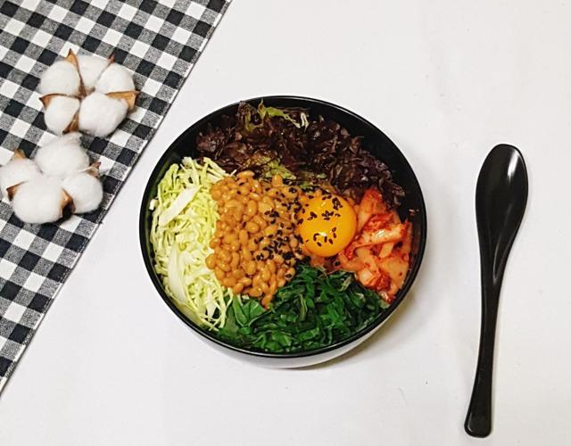 다이어트식품 낫또로 낫또비빔밥 만들기