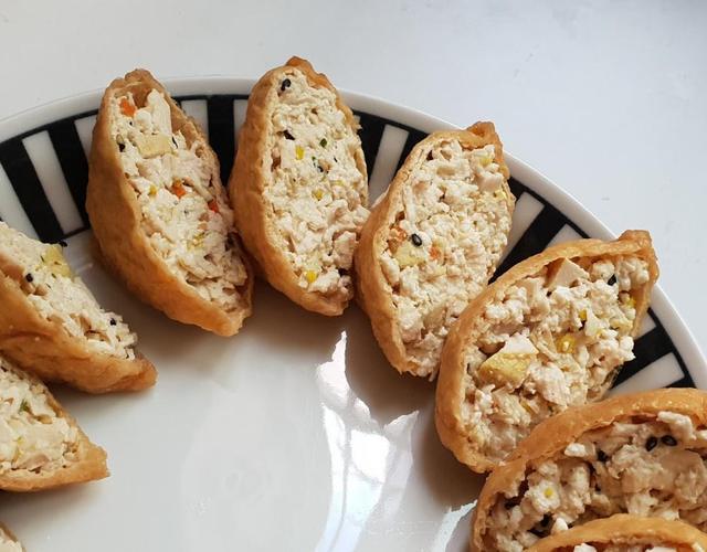 두부닭가슴살유부초밥