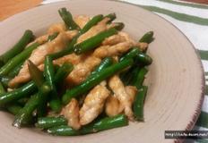 닭가슴살 & 그린빈 / 다이어트 요리+ 일품요리 + 스피드 요리.