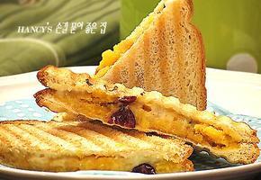 고구마 샌드위치, 맛도 좋고 간단한 고구마 샌드위치
