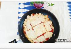 떡국떡 피자만드는법 떡활용 굿