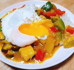 기름한방울없는 다이어트 닭가슴살카레!