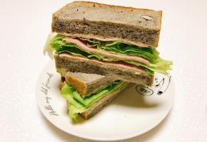 마늘마요네즈 샌드위치 만들기 마늘이랑 마요네즈랑 참 잘 어울려요 :)