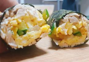 밥없는 다이어트 닭가슴살김밥!