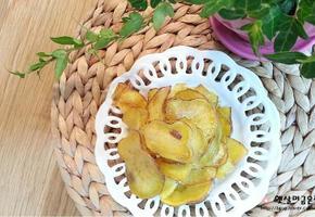 고구마칩 만드는법 바삭한 주전부리