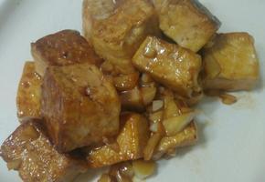 일본 이자카야 맛!!가리바타 두부♡ガリバタ豆腐