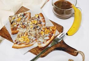 <노오븐> 바삭바삭 달콤한 간식 바나나 또띠아 만들기
