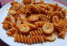 초간단 다이어트 통밀 나폴리탄 스파게티 만들기