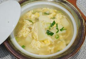 육수 없이 끓이는 감자달걀국(감자계란국)