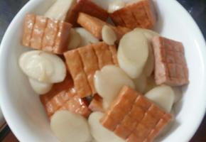김밥햄 2팩으로 햄.떡 만들기