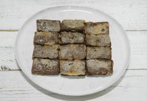 쉬워도 너무 쉬운 초간단 요리 도토리묵전 만드는 법