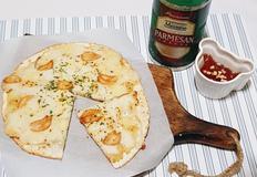 < 노오븐 > 마늘향이 솔솔 달콤하고 맛있는 간식 마늘피자 만들기