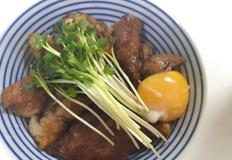 차슈덮밥:) 남은 보쌈,수육으로 간단한 한그릇요리