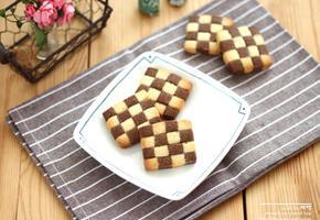 체크 쿠키 모자이크 쿠키 만들기