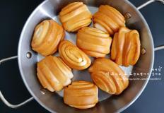 간단간식 에어프라이어 꽃빵 튀김 만들기