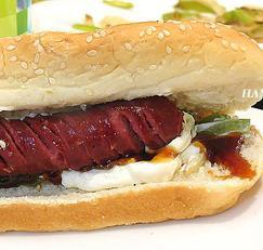 미국 핫도그 아저씨에게 얻은 팁! 핫도그, 소시지 샌드위치