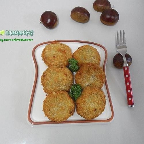 영양 간식으로 좋은 밤크로켓/밤껍질 쉽게 벗기는 방법