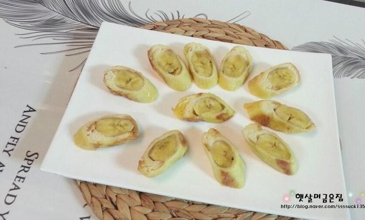 바나나 고로케 만드는법 과일요리 아이간식