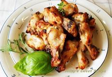 허브버터 닭봉 구이